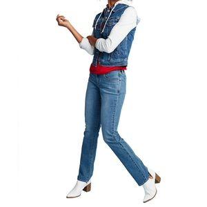 Levis 505 Straight Leg Jeans